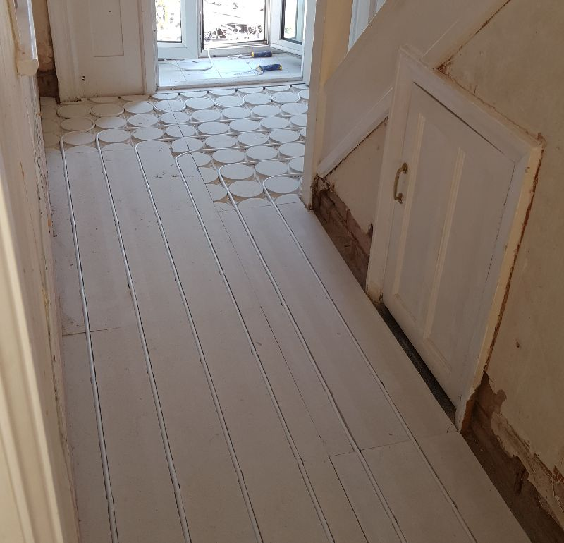 Underfloor heating installation in leicester blaby oadby wigston countesthorpe