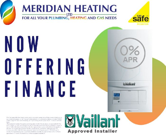 Meridian Heating in Leicestershire central heating and boiler financing